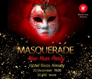 MASQUERADE NEW YEAR PARTY!